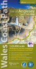Isle of Anglesey Coast Path Map : 1:25,000 scale Ordnance Survey mapping for the entire Isle of Anglesey Coast Path - Book