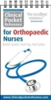 Clinical Pocket Reference for Orthopaedic Nurses - Book