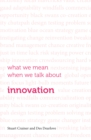 What we mean when we talk about innovation - Book