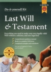 Last Will & Testament Kit - Book