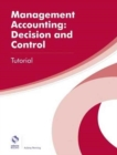 Management Accounting: Decision and Control Tutorial - Book