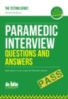 Paramedic Interview Questions and Answers - eBook