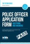 Police officer application form questions and answers - eBook