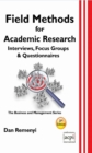 Field Methods for Academic Research : Interviews, Focus Groups & Questionnaires - eBook