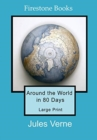 Around the World in 80 Days: Large Print - Book