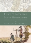 Dury and Andrews' Map of Hertfordshire : Society and landscape in the eighteenth century - eBook