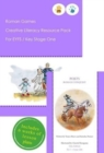 Roman Games Creative Literacy Resource Pack for Key Stage One and EYFS - Book