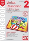 11+ Verbal Reasoning Year 3/4 GL & Other Styles Workbook 2 : Verbal Reasoning Technique - Book