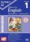 KS2 Semantics Year 5/6 Workbook 1 - Synonyms - Book