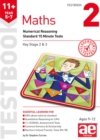 11+ Maths Year 5-7 Testbook 2 : Numerical Reasoning Standard 15 Minute Tests - Book