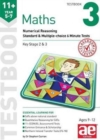 11+ Maths Year 5-7 Testbook 3 : Numerical Reasoning Standard & Multiple-Choice 6 Minute Tests - Book