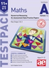 11+ Maths Year 5-7 Testpack A Papers 1-4 : Numerical Reasoning GL Assessment Style Practice Papers - Book