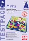 11+ Maths Year 5-7 Testpack A Papers 5-8 : Numerical Reasoning GL Assessment Style Practice Papers - Book