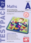 11+ Maths Year 5-7 Testpack A Papers 9-12 : Numerical Reasoning GL Assessment Style Practice Papers - Book