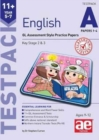 11+ English Year 5-7 Testpack A Papers 1-4 : GL Assessment Style Practice Papers - Book