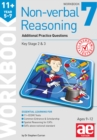 11+ Non-verbal Reasoning Year 5-7 Workbook 7 : Additional CEM Style Practice Questions - Book