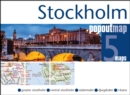 Stockholm PopOut Map : Handy, pocket size, pop-up map of Stockholm - Book