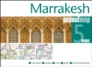 Marrakesh PopOut Map : Handy pocket size pop up city map of Marrakesh - Book