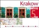 Krakow PopOut Map : Handy pocket-size pop up city map of Krakow - Book