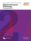 Pearson BTEC Level 1/2 Tech Award in Digital Information Technology: Component 3 - Book
