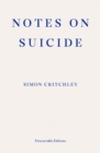Notes on Suicide - Book
