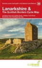 Lanarkshire & the Scottish Borders Cycle Map 38 : Including Coast & Castles South, 4 Abbeys Cycle Route, Borderloop and 4 Individual Day Rides - Book
