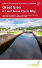 Great Glen & Loch Ness Cycle Map 47 : Including the Caledonia Way, Lochs & Glens North, the North Sea Cycle Route and 2 Individual Day Rides - Book