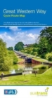 Great Western Way Cycle Route Map : Bristol Temple Meads to Brunel Museum NCN4 - Book