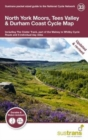 North York Moors, Tees Valley & Durham Coast Cycle Map : Including The Cinder Track, part of the Walney to Whitby Cycle Route and 5 Individual day rides - Book