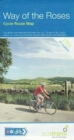 Way of the Roses : Cycle Route Map - Book