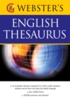 Webster's American English Thesaurus : With over 10,000 entries, and 350,000 synonyms and antonyms (US English) - eBook