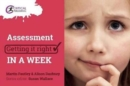 Assessment: Getting it Right in a Week - Book