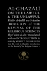 Al-Ghazali on the Lawful and the Unlawful : Book XIV of the Revival of the Religious Sciences - Book