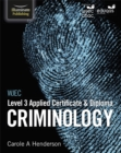 WJEC Level 3 Applied Certificate & Diploma Criminology - Book