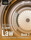 WJEC/Eduqas Law for A Level: Book 2 - Book