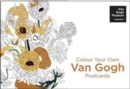 Colour Your Own Van Gogh Postcard Book : 20 Postcards - Book