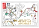 Colour Your Own Medieval Animals - Book