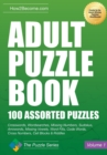 Adult Puzzle Book : 100 Assorted Puzzles - Book