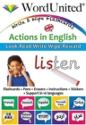 Actions in English : Write & Wipe Flashcards - Book
