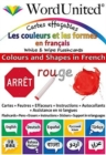 Colours and Shapes in French : Write & Wipe Flashcards - Book