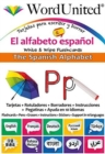 The Spanish Alphabet : Write & Wipe Flashcards - Book