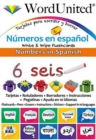 Numbers in Spanish : Write & Wipe Flashcards - Book