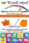 Colours and Shapes in Spanish : Write & Wipe Flashcards - Book