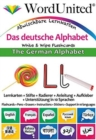 The German Alphabet : Write & Wipe Flashcards - Book