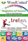 Actions in German : Write & Wipe Flashcards - Book
