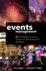 Events Management : 87 Key Models for Event, Venue and Experience (EVE) Managers - Book