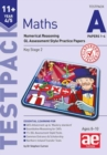 11+ Maths Year 4/5 Testpack a Papers 1-4 : Numerical Reasoning Gl Assessment Style Practice Papers - Book