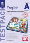 11+ English Year 4/5 Testpack a Papers 1-4 : GL Assessment Style Practice Papers - Book