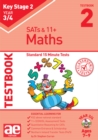 KS2 Maths Year 3/4 Testbook 2 : Standard 15 Minute Tests - Book