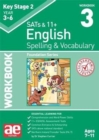 KS2 Spelling & Vocabulary Workbook 3 : Foundation Level - Book